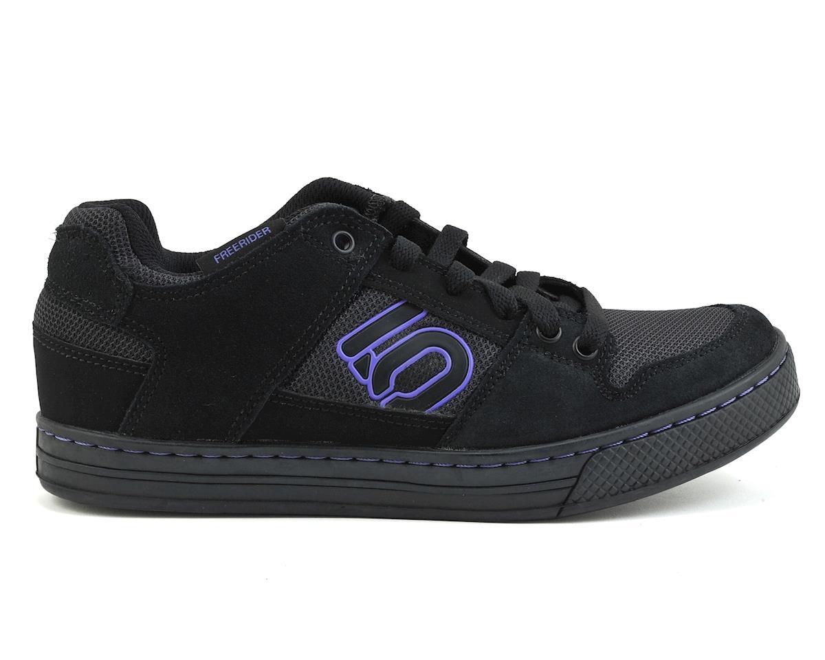 Five Ten Women's Freerider Flat Pedal Shoe (Black/Purple) (8)