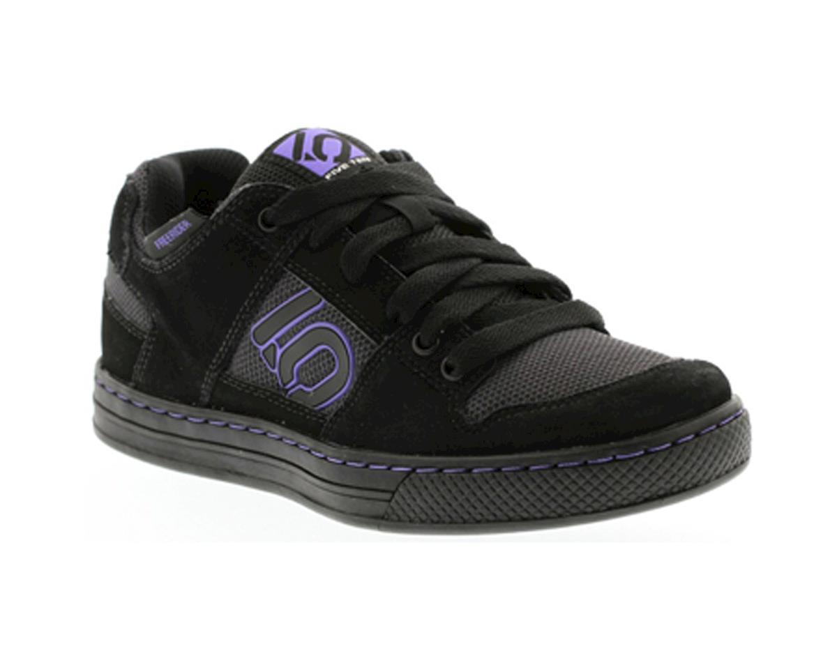 Image 1 for Five Ten Women's Freerider Flat Pedal Shoe (Black/Purple) (9.5)