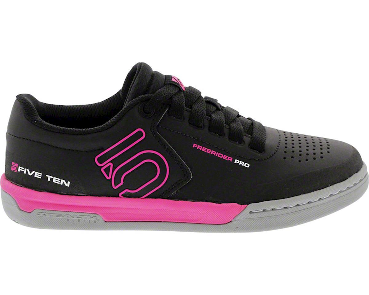Five Ten Freerider Pro Women's Flat Pedal Shoe (Black/Pink) (8)