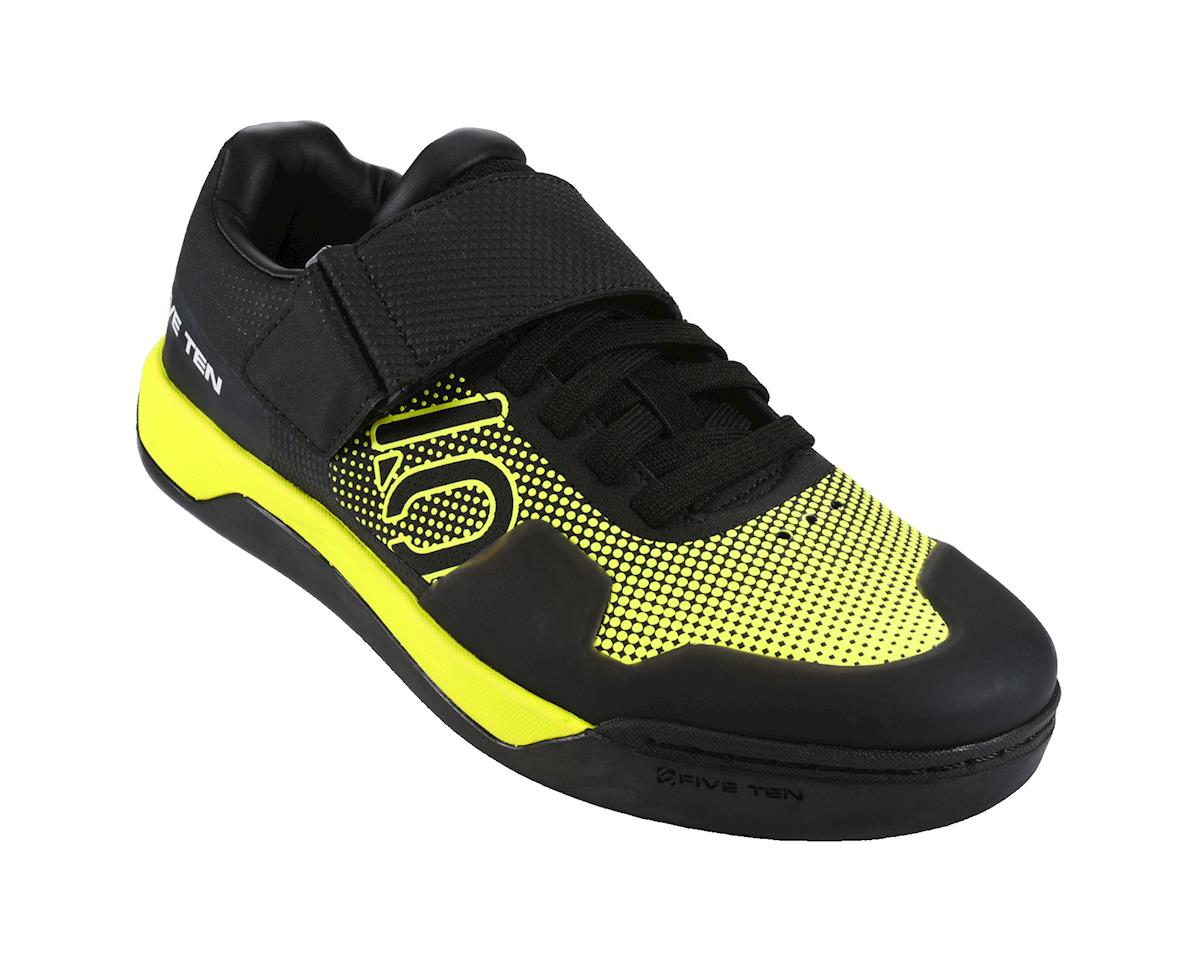 Hellcat Pro Men's Clipless/Flat Pedal Shoe: Semi Solar Yellow 9