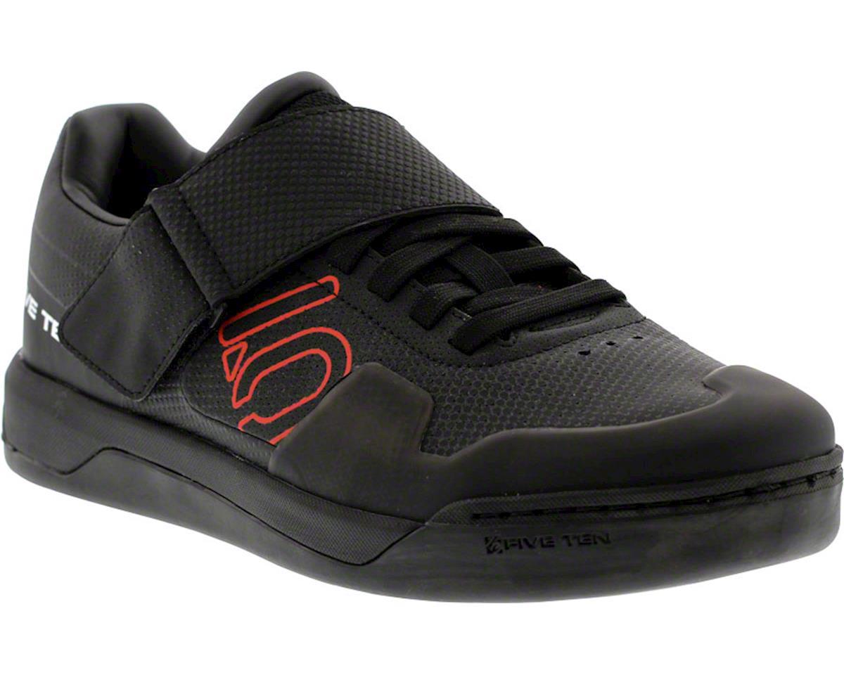 Hellcat Pro Men's Clipless/Flat Pedal Shoe: Black 10.5