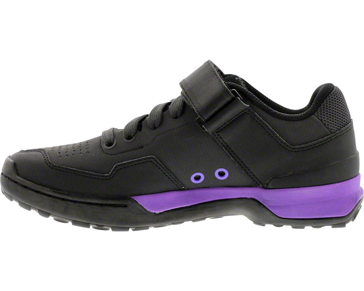 Five Ten Women's Kestrel Lace MTB Shoe (Black/Purple) (5)