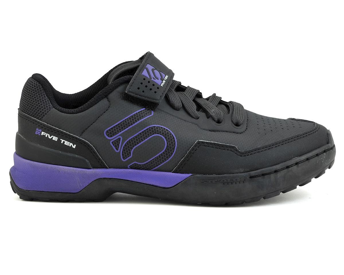 Five Ten Women's Kestrel Lace MTB Shoe (Black/Purple) (8.5)