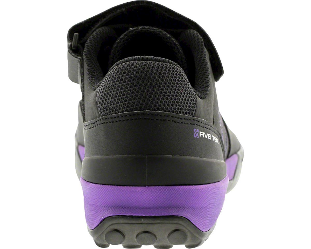 Five Ten Women's Kestrel Lace MTB Shoe (Black/Purple) (11)