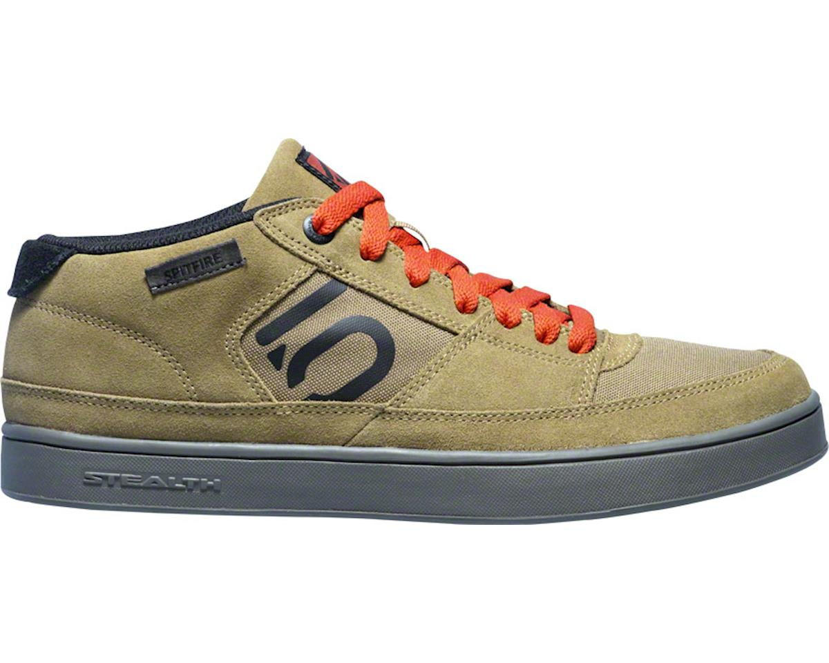 Spitfire Men's Flat Pedal Shoe: Craft Khaki 10.5