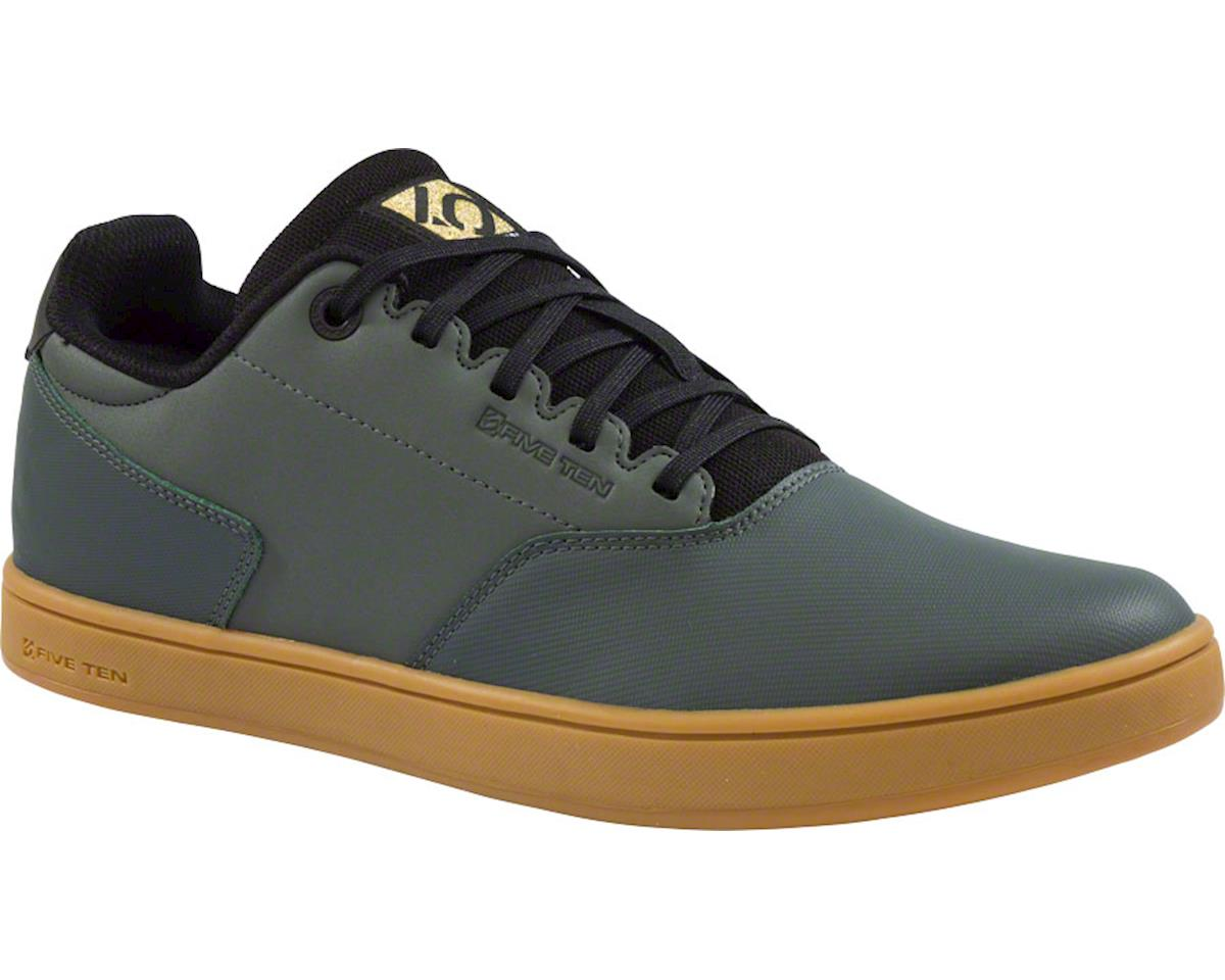 District Men's Flat Pedal Shoe: Ivy Green 7