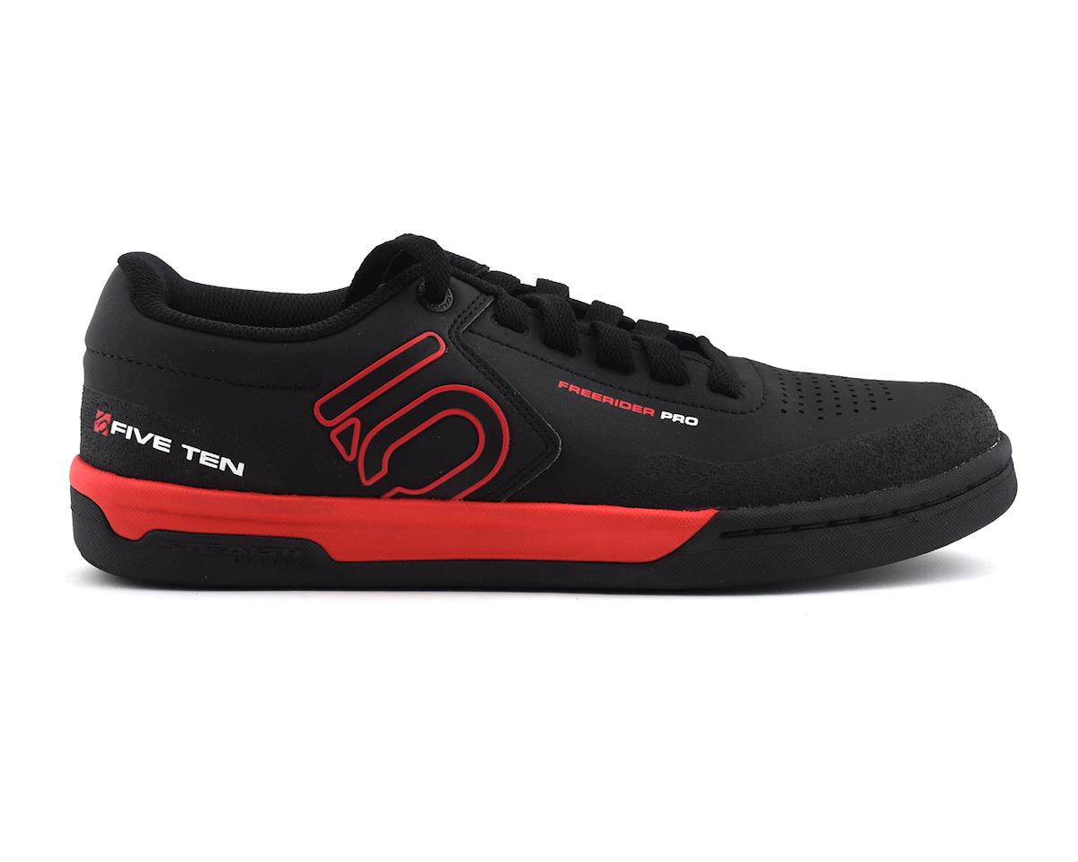 Five Ten Freerider Pro Men's Flat Pedal Shoes (Team Black) (10)