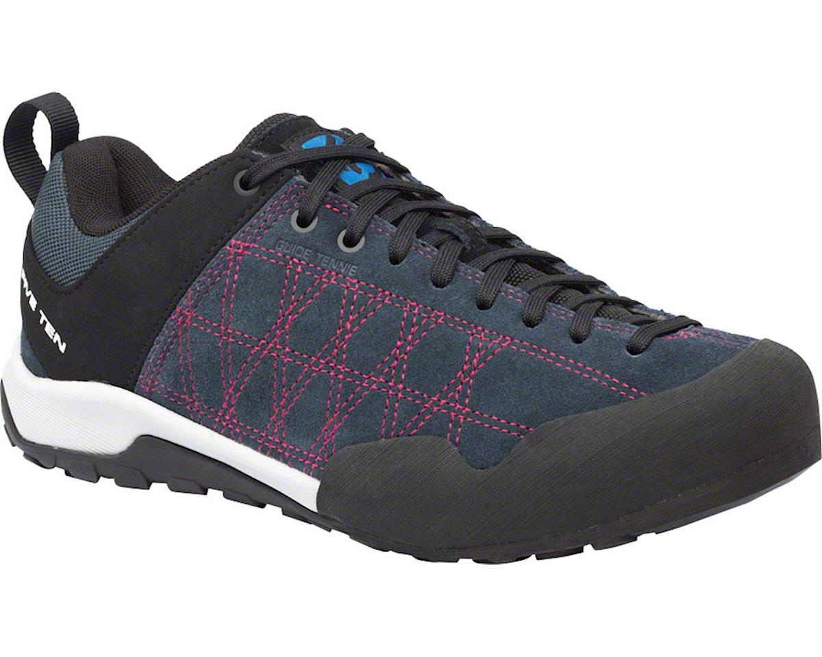 Five Ten Women's Guide Tennie Approach Shoe (Gray/Fuchsia)