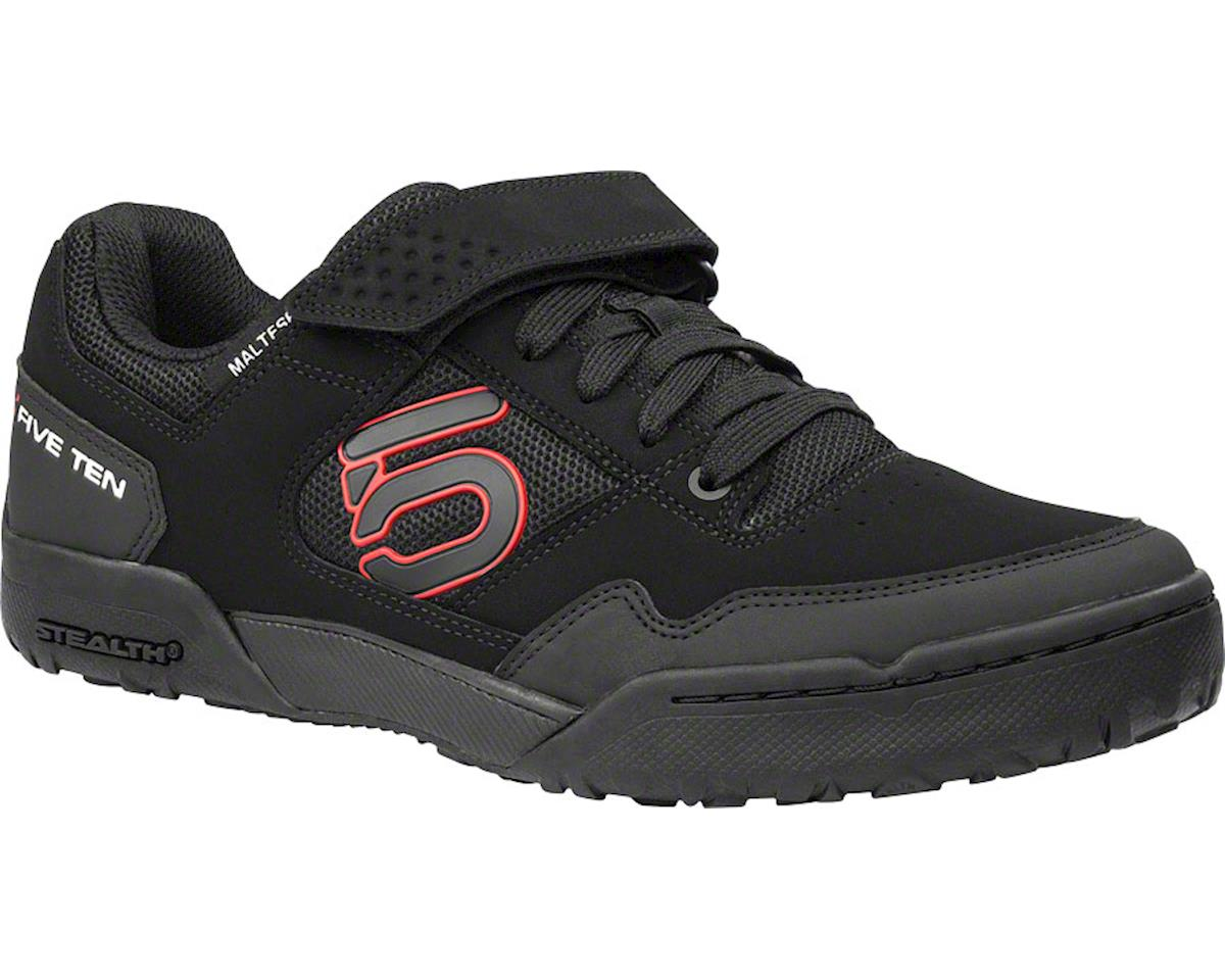 Maltese Falcon Men's Clipless Shoe: Black/Red 8.5