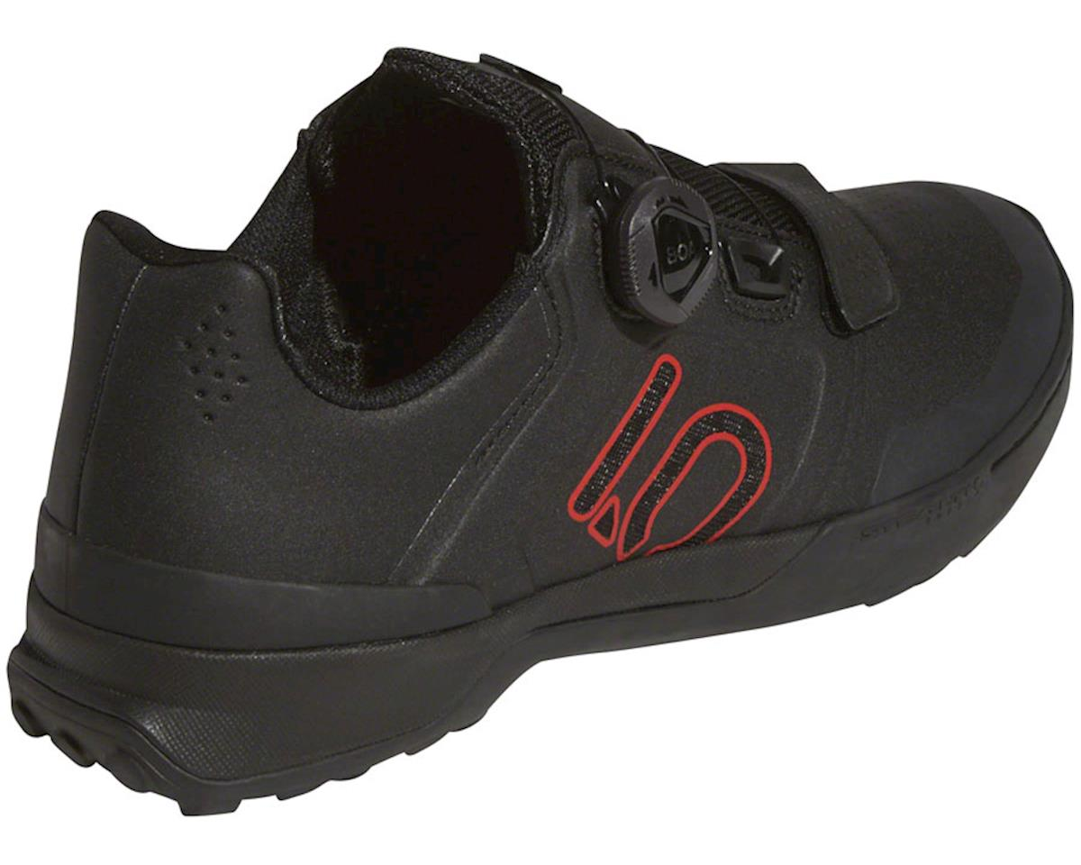 Five Ten Kestrel Pro BOA Men's Clipless Shoe (Black/Red/Gray) (11.5)