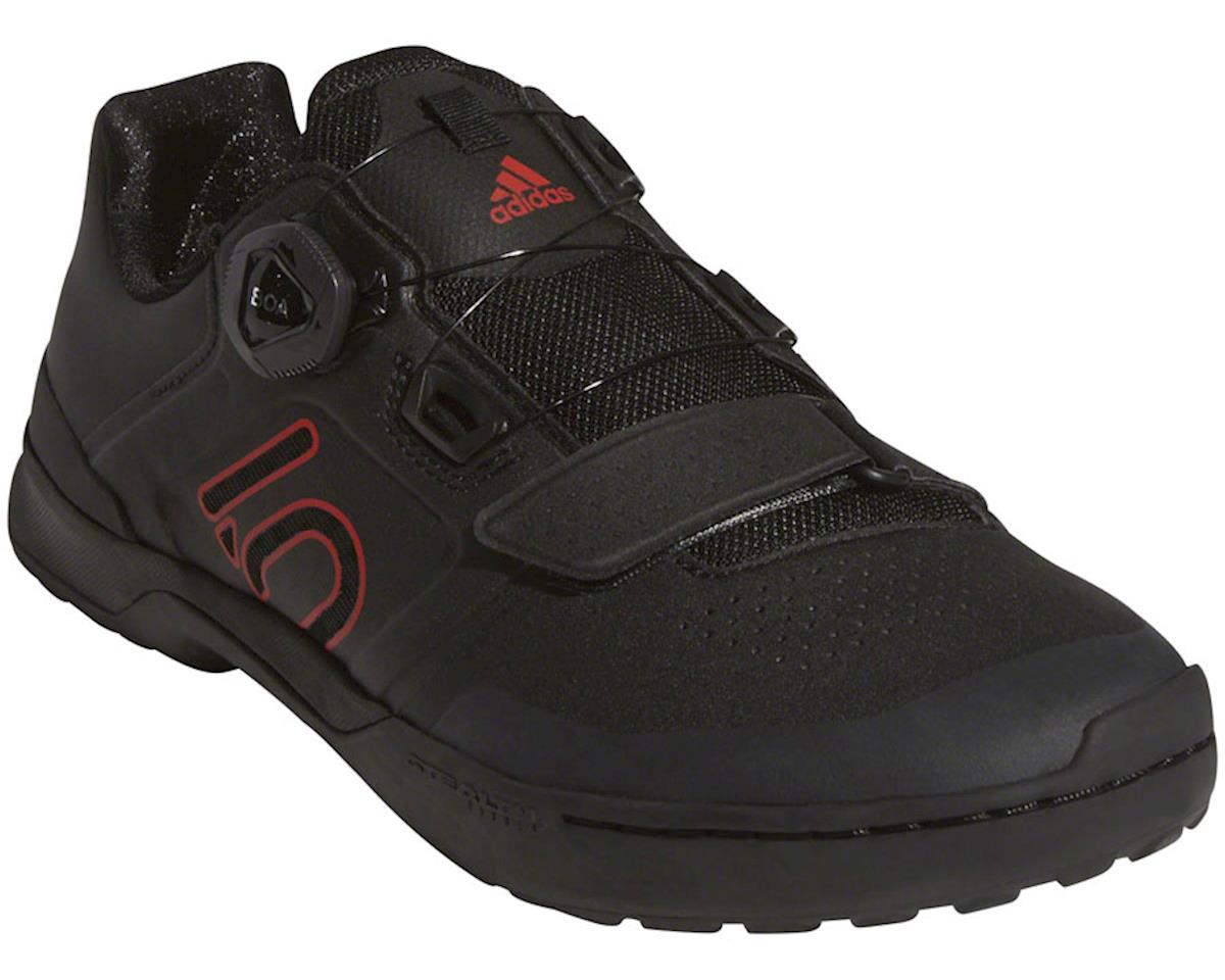 Five Ten Kestrel Pro BOA Men's Clipless Shoe (Black/Red/Gray) (12)