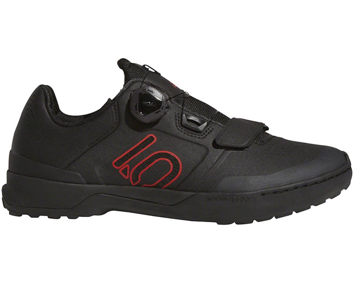 Five Ten Kestrel Pro BOA Men's Clipless Shoe (Black/Red/Gray) (14)