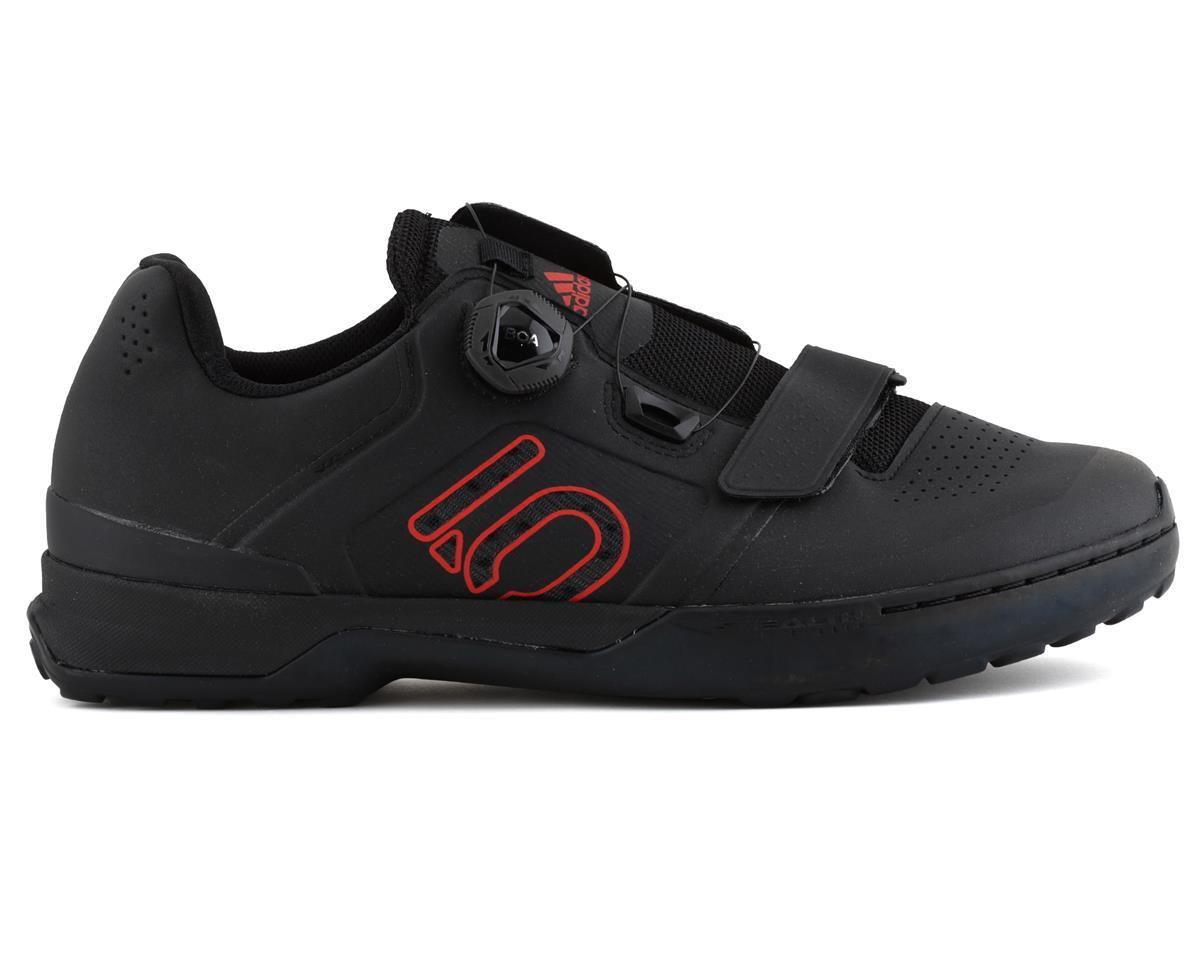 Five Ten Kestrel Pro BOA Men's Clipless Shoe (Black/Red/Gray) (9.5)