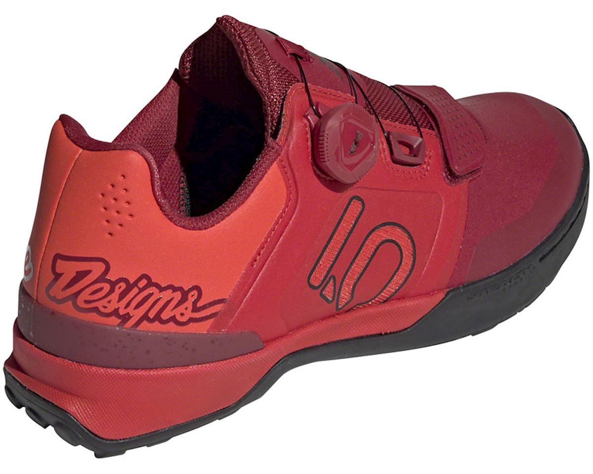 Five Ten Kestrel Pro BOA Troy Lee Designs Men's Clipless Shoe (Red/Black) (10.5)