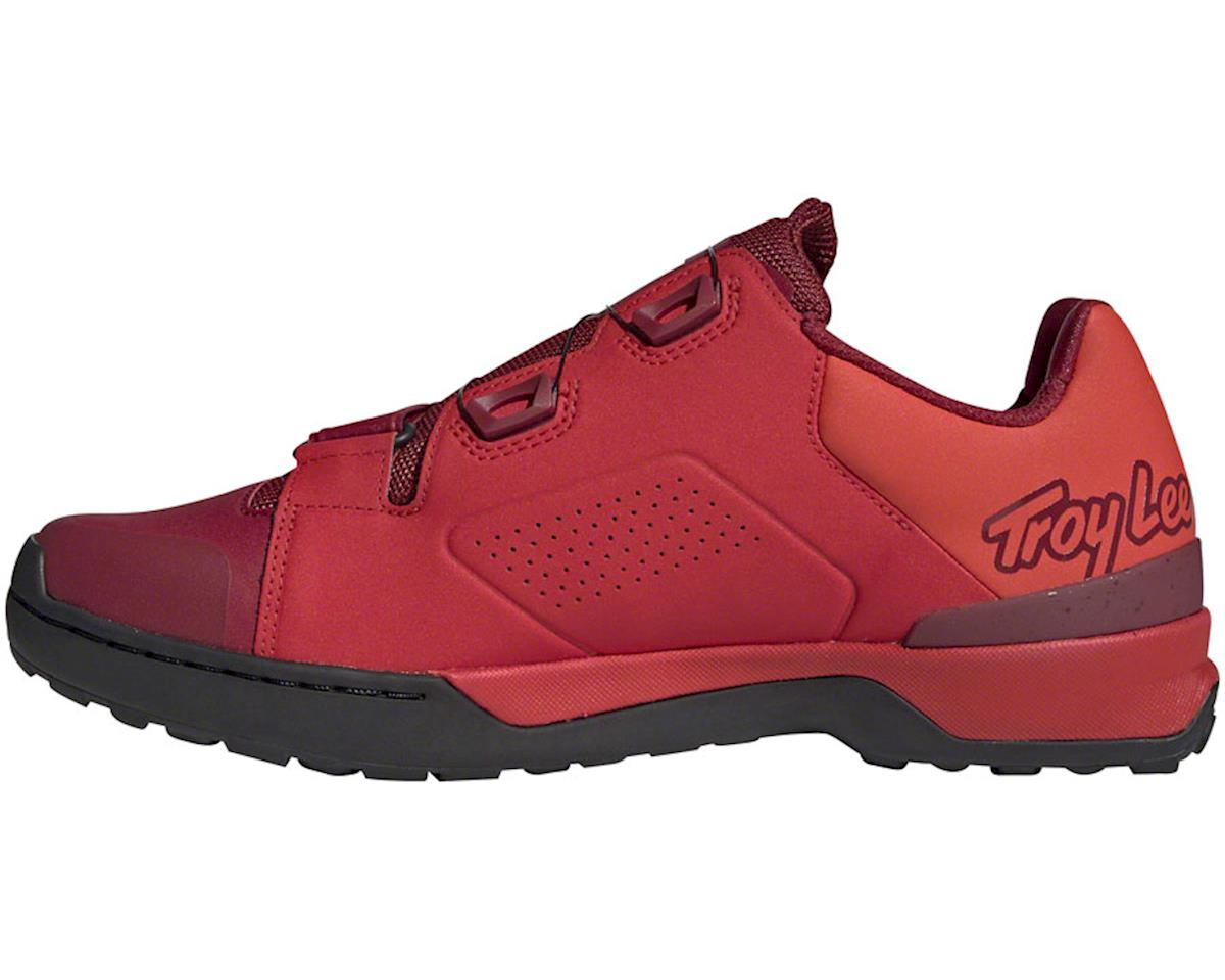 Five Ten Kestrel Pro BOA Troy Lee Designs Men's Clipless Shoe (Red/Black) (11.5)