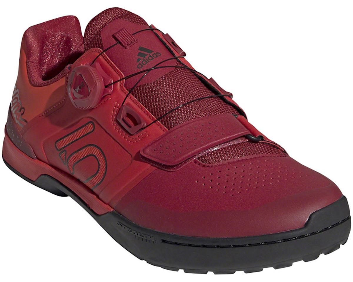 Five Ten Kestrel Pro BOA Troy Lee Designs Men's Clipless Shoe (Red/Black) (12)