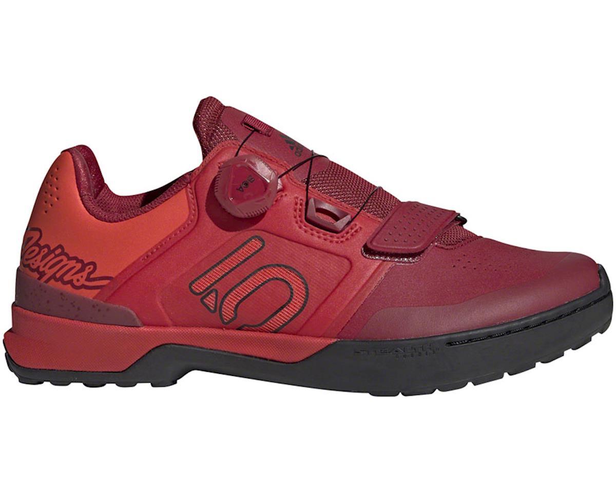 Five Ten Kestrel Pro BOA Troy Lee Designs Men's Clipless Shoe (Red/Black) (8.5)