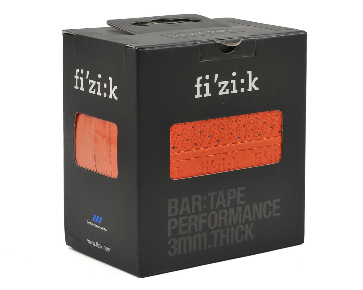 fizik Performance 3mm Thick Classic Bar Tape (Orange)