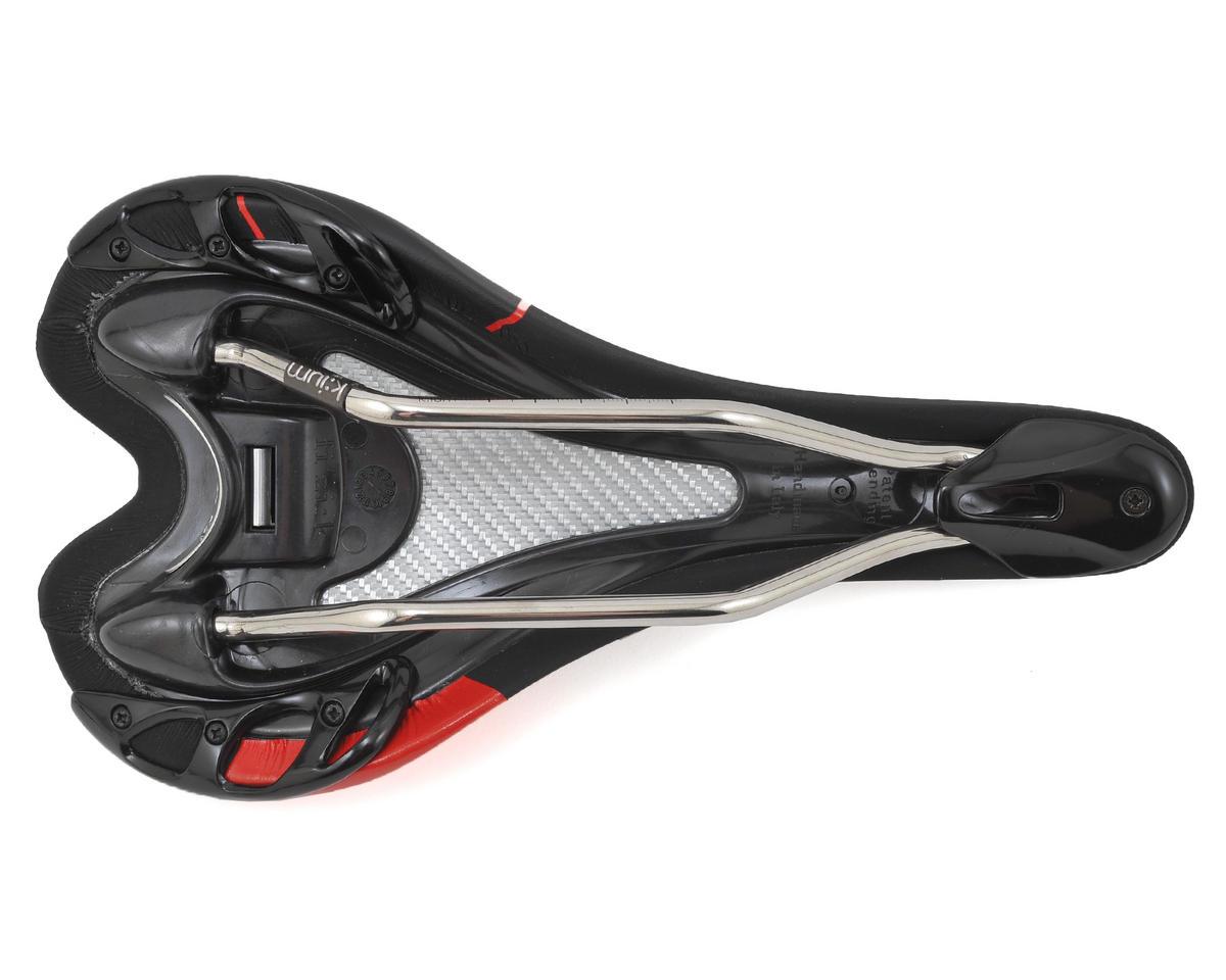 fizik Aliante VS Road Saddle (K:ium Rails) (Black/Red)