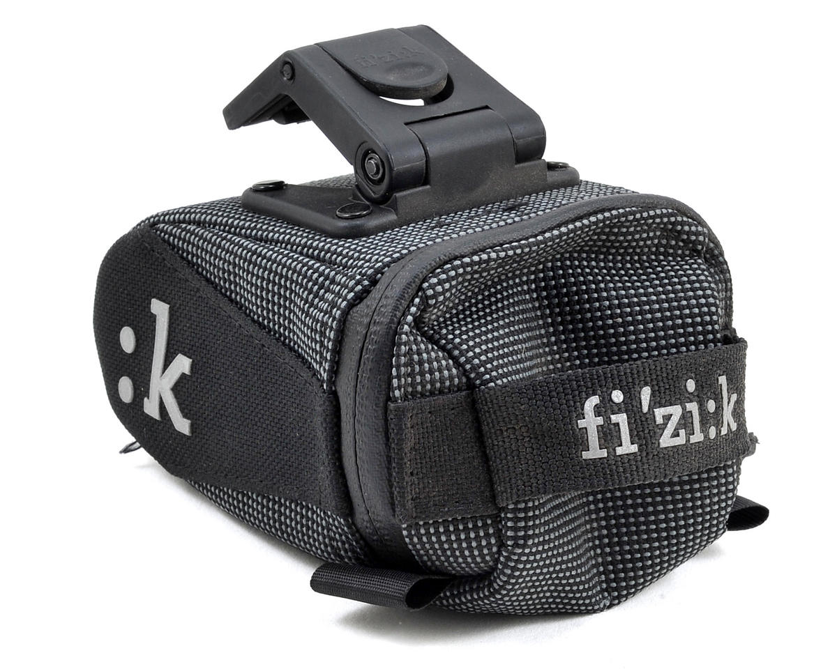 fizik Seat Bag With Clip (Dark Gray) (S)