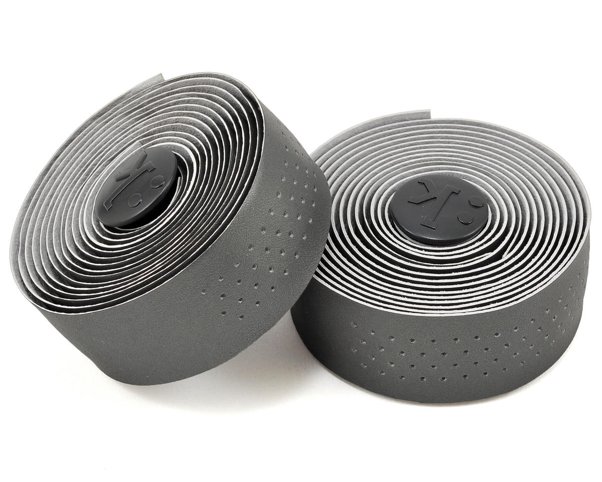 Superlight 2mm Thick Perforated Microtex Handlebar Tape (Dark Gray)