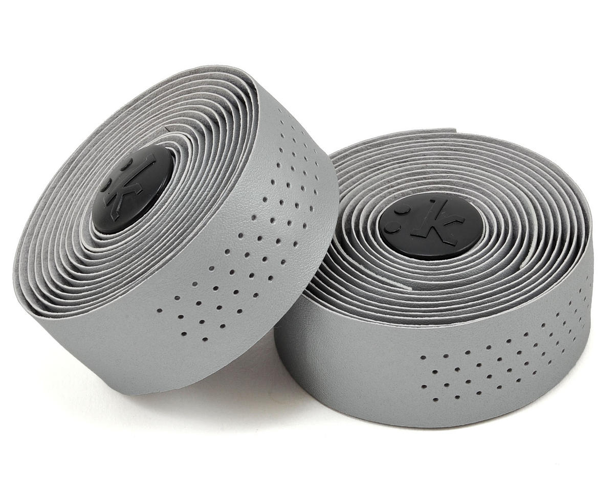 Superlight 2mm Thick Perforated Microtex Handlebar Tape (Silver)