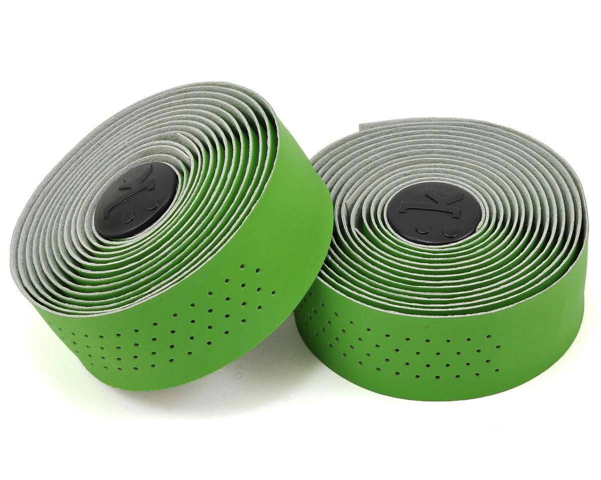 Superlight 2mm Thick Perforated Microtex Handlebar Tape (Apple Green)