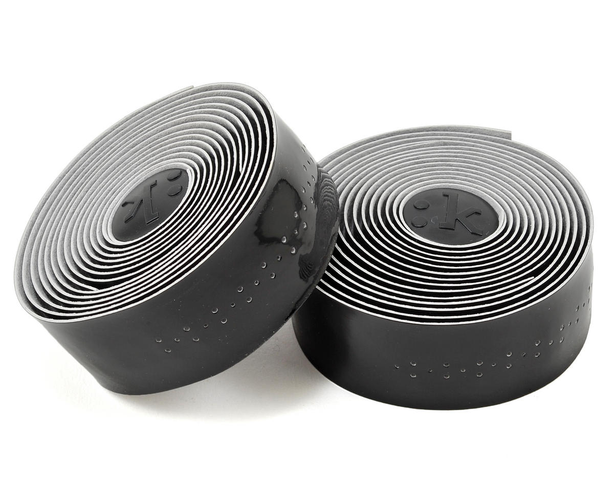 Superlight 2mm Thick Perforated Microtex Handlebar Tape (Glossy Black)