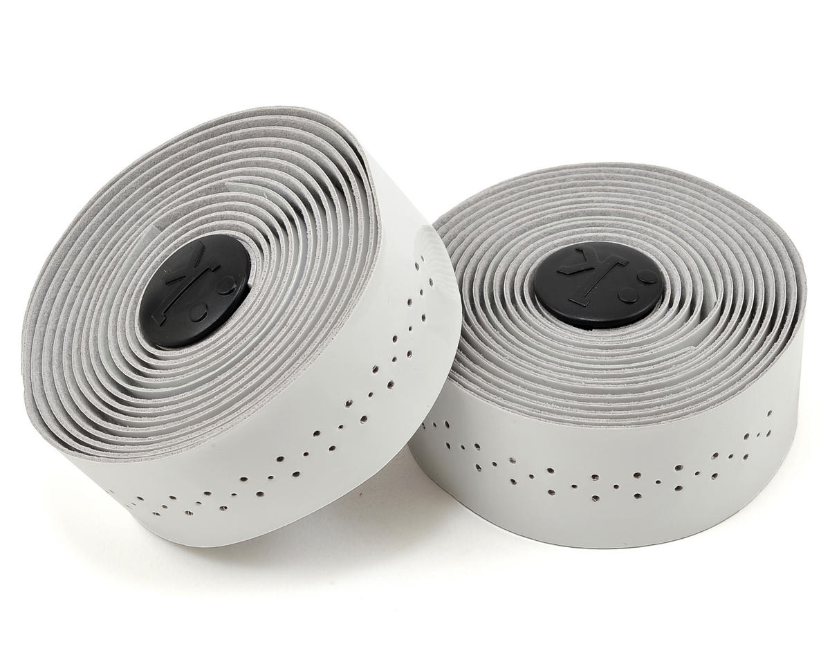 Superlight 2mm Thick Perforated Microtex Handlebar Tape (Glossy White)