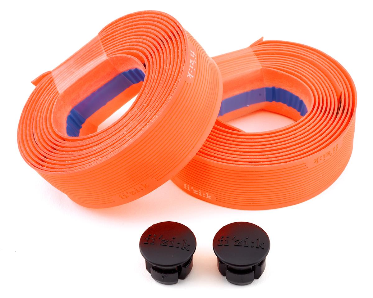 fizik Vento Microtex Tacky Handlebar Tape (Orange Fluorescent) (2mm Thick)