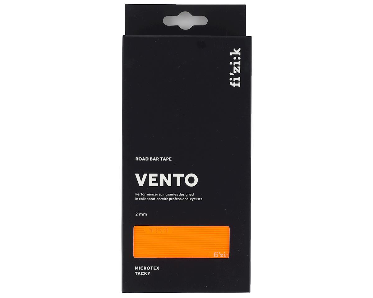 fizik Vento Microtex Tacky Handlebar Tape (Orange Fluorescent) (2mm Thick)
