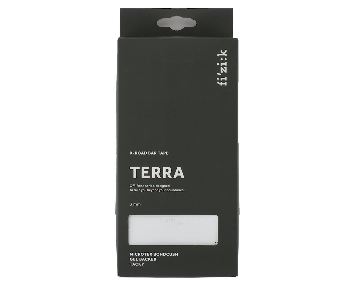 fizik Terra Bondcush Tacky Handlebar Tape (White) (3mm Thick)