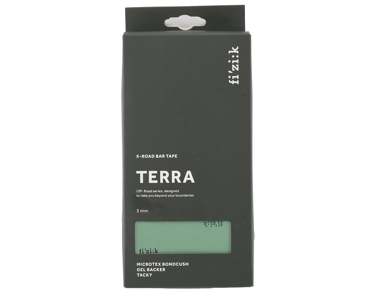 fizik Terra Bondcush Tacky Handlebar Tape (Green/Blue) (3mm Thick)