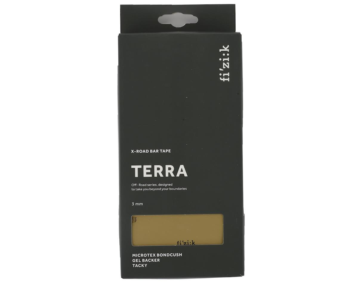 fizik Terra Bondcush Tacky Handlebar Tape (Brown) (3mm Thick)
