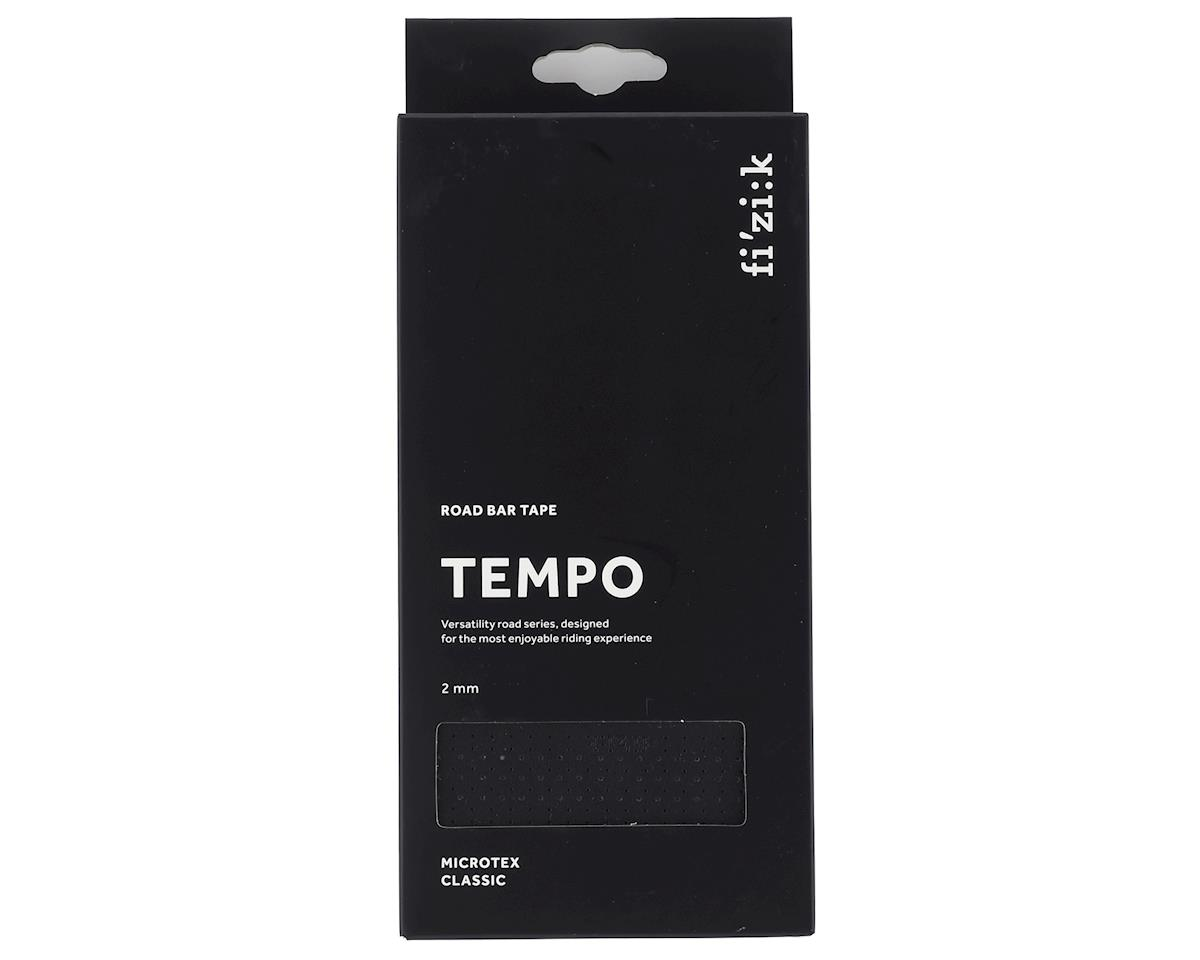 fizik Tempo Microtex Classic Handlebar Tape (Black) (2mm Thick)
