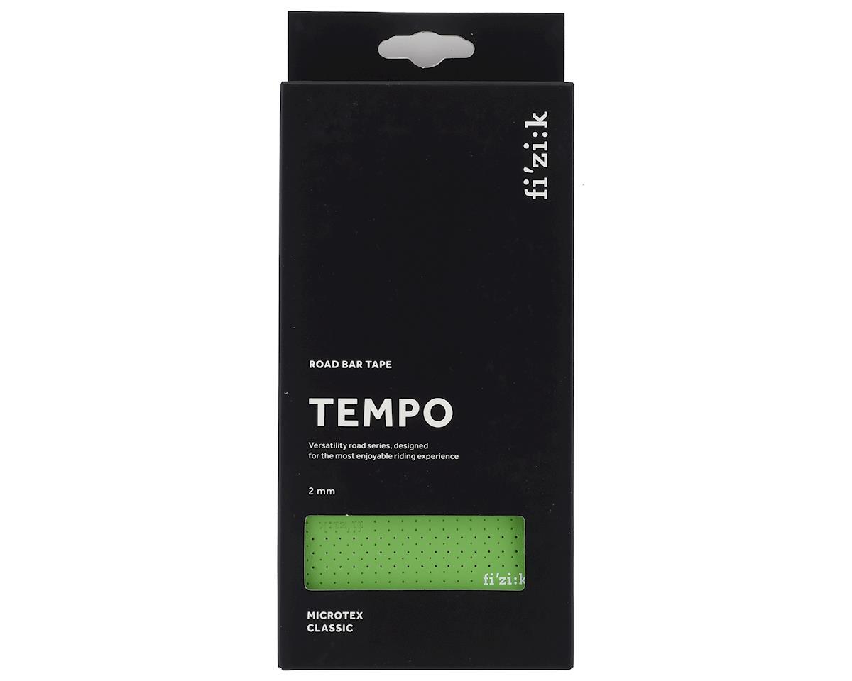 fizik Tempo Microtex Classic Handlebar Tape (Green) (2mm Thick)