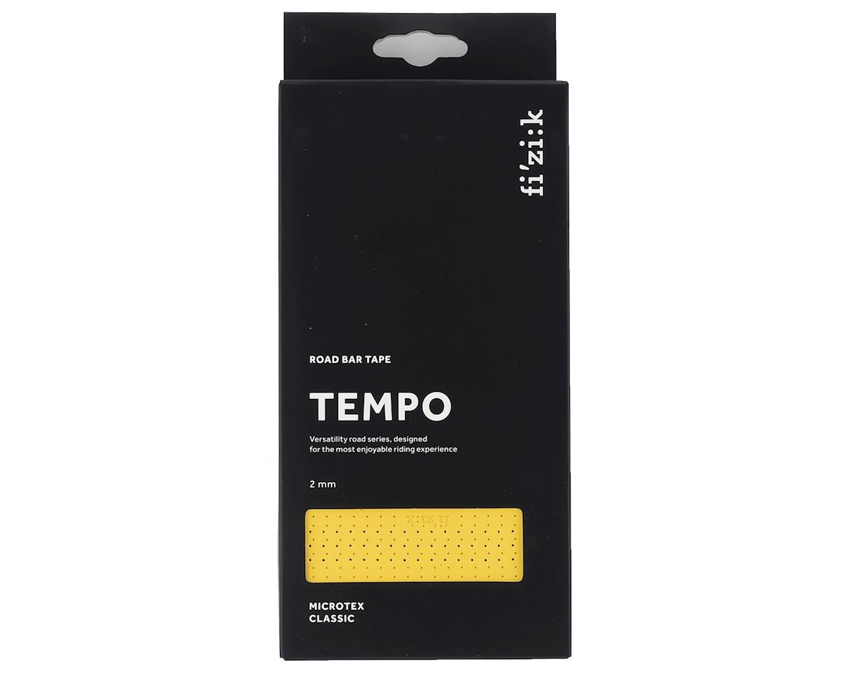 Image 3 for fizik Tempo Microtex Classic Handlebar Tape (Yellow) (2mm Thick)