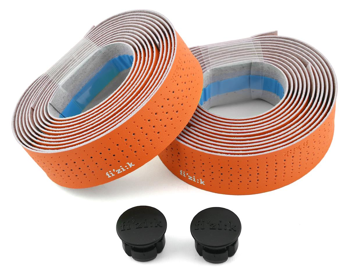 fizik Tempo Microtex Classic Handlebar Tape (Orange) (2mm Thick)