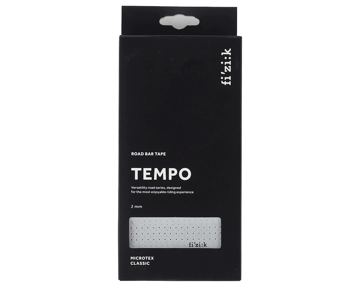 fizik Tempo Microtex Classic Handlebar Tape (Silver) (2mm Thick)