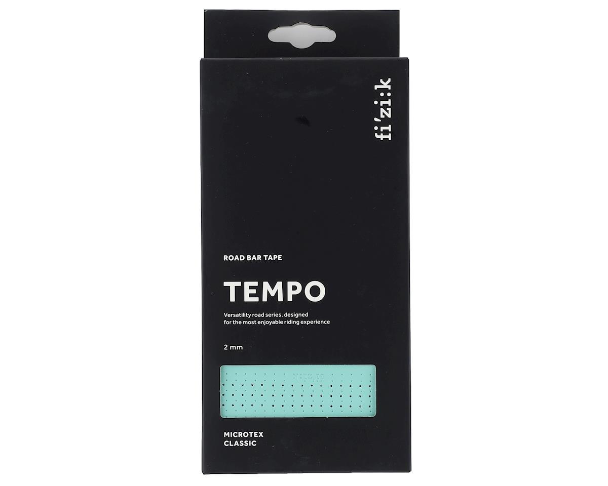 fizik Tempo Microtex Classic Handlebar Tape (Bianchi Green) (2mm Thick)