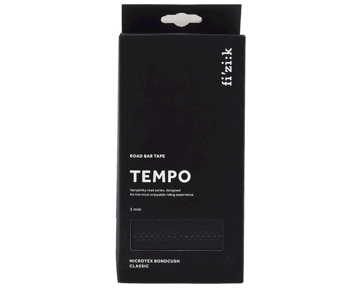 Image 2 for fizik Tempo Microtex Bondcush Classic Bar Tape (Black) (3mm Thick)