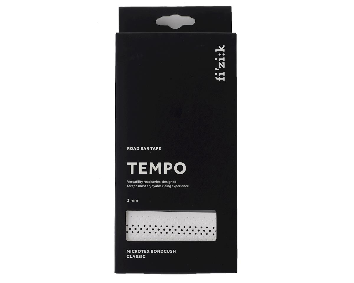 fizik Tempo Bondcush Classic Handlebar Tape (White) (3mm Thick)