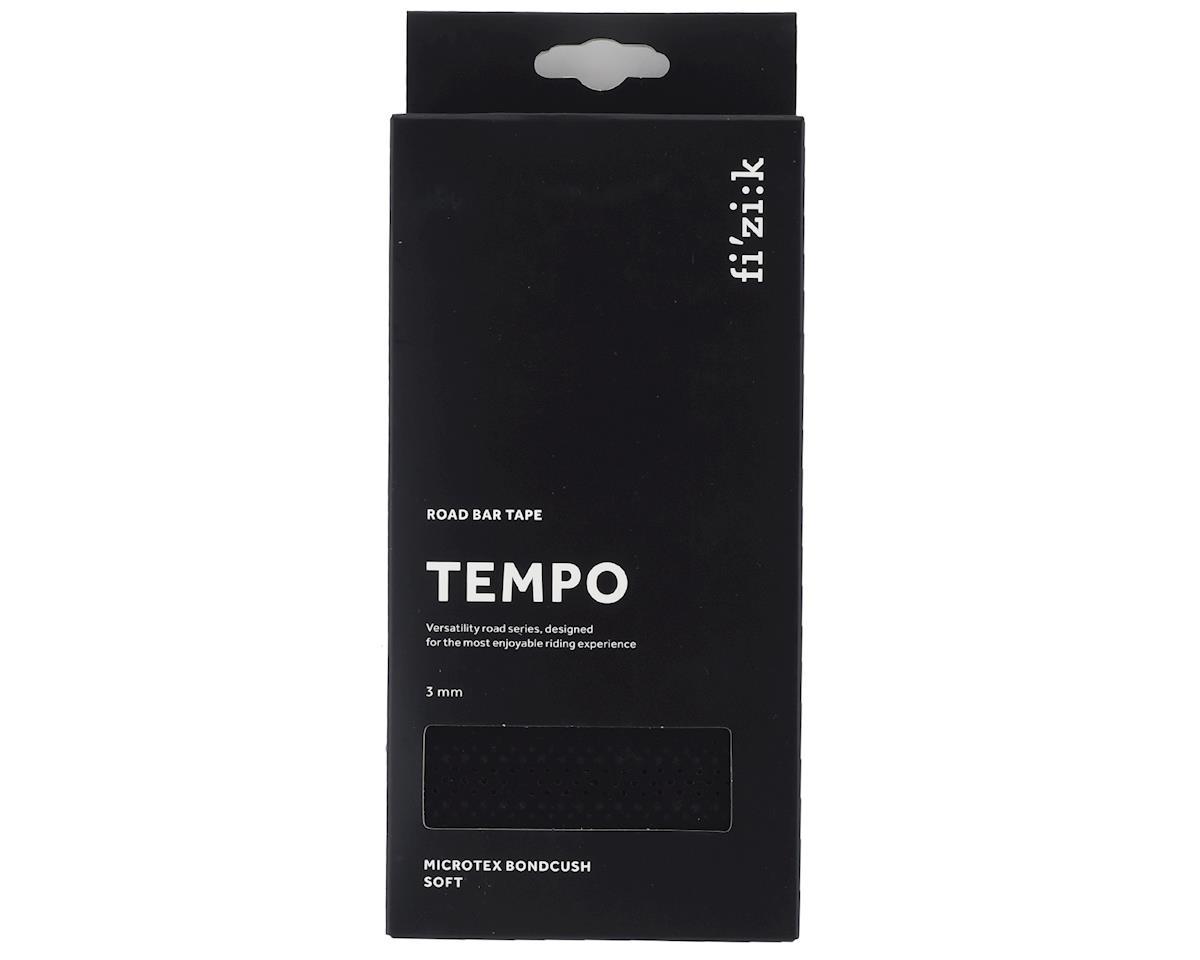 fizik Tempo Bondcush Soft Handlebar Tape (Black) (3mm Thick)