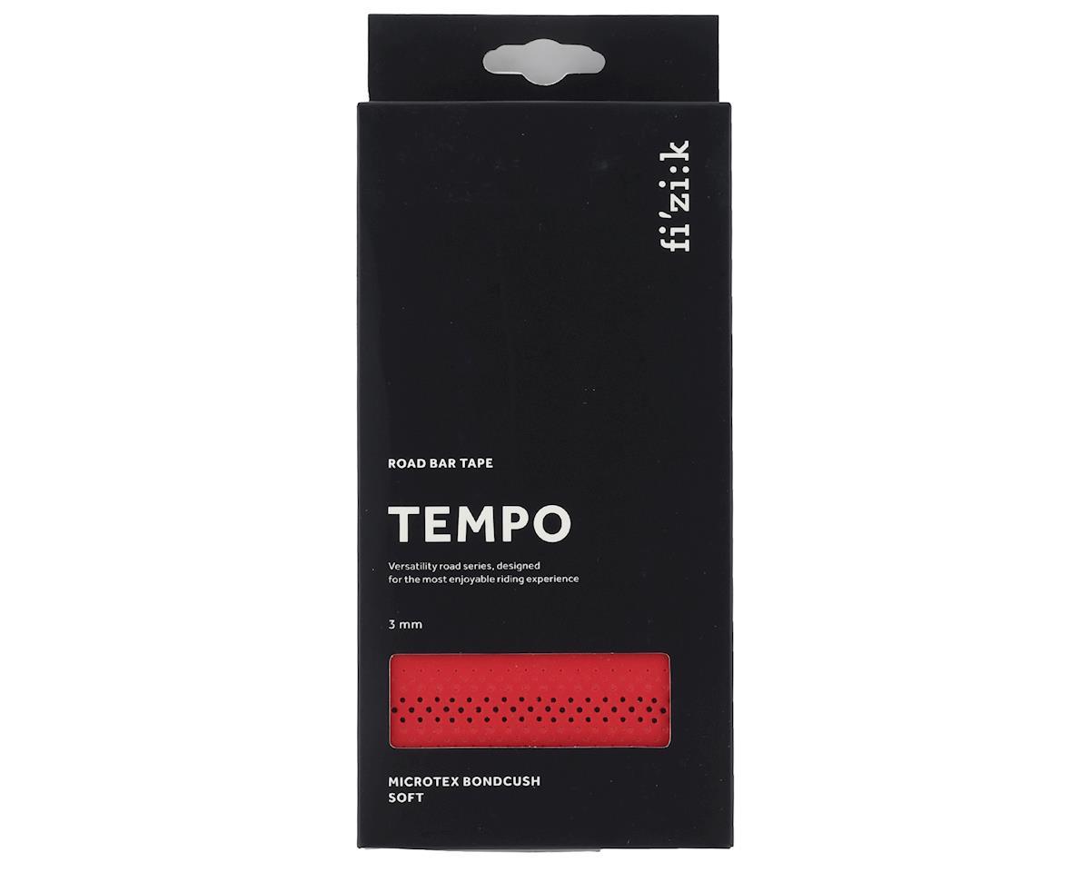 fizik Tempo Bondcush Soft Handlebar Tape (Red) (3mm Thick)