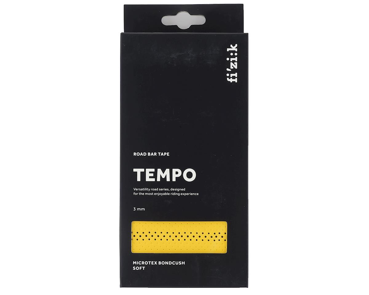 fizik Tempo Bondcush Soft Handlebar Tape (Yellow) (3mm Thick)