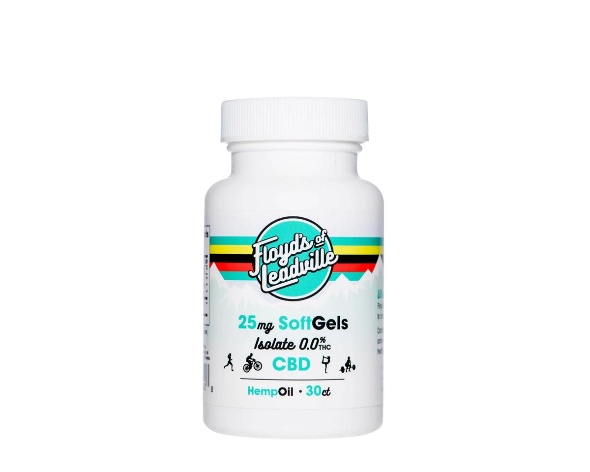 Floyd's of Leadville CBD Softgel Isolate (THC-Free) (25mg of CBD/Pill) (30)