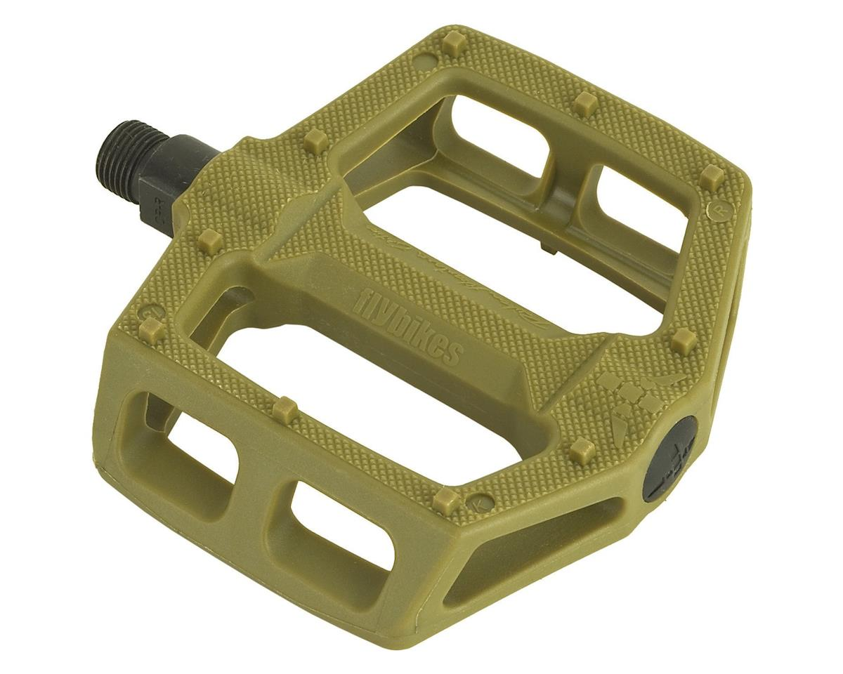 "Ruben Graphite Pedals 9/16"" Military Green"