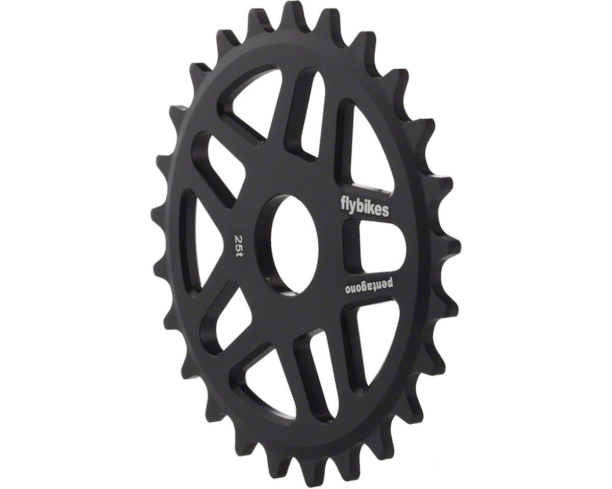 Pentagono Flat Black 25t Sprocket
