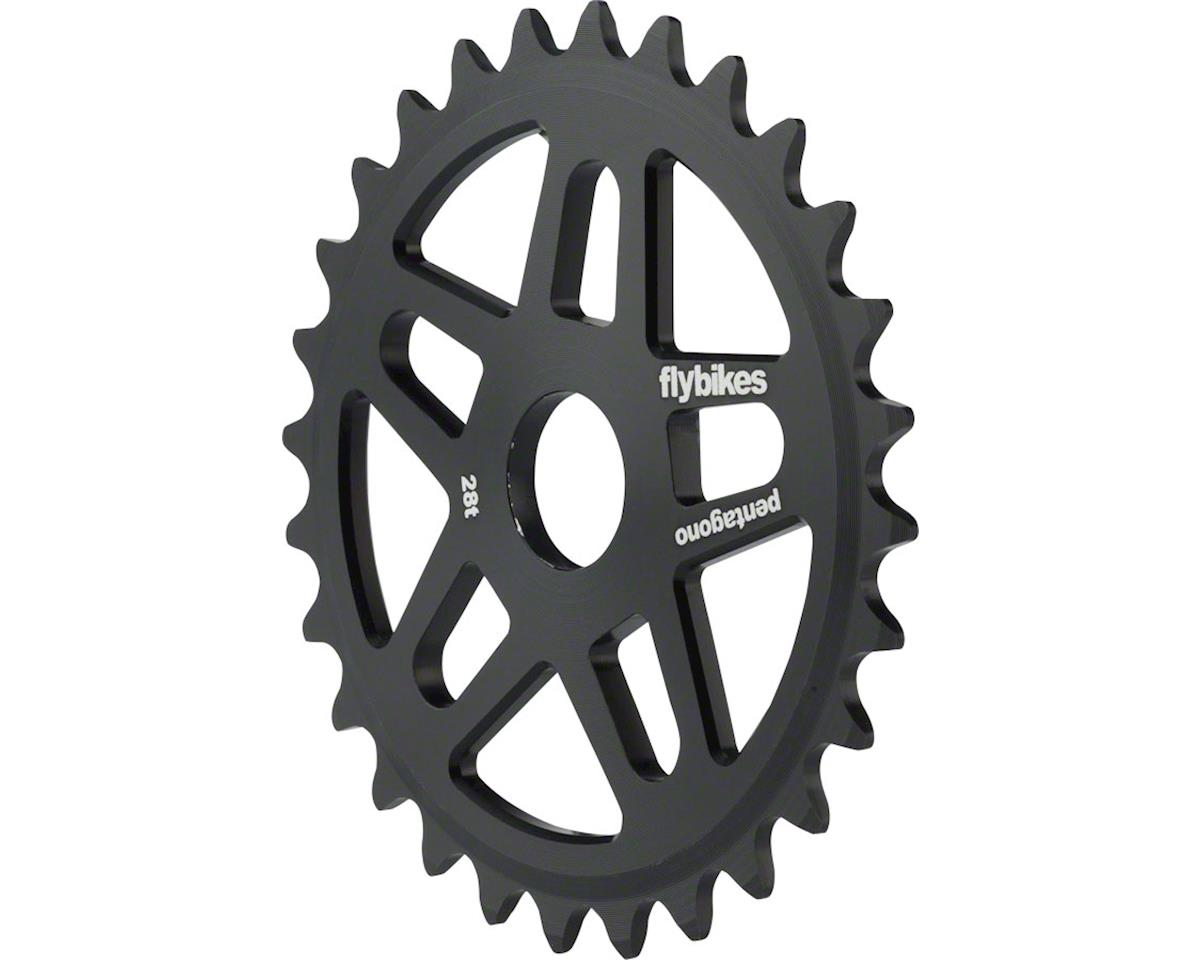 Flybikes Pentagono Black 28t Sprocket