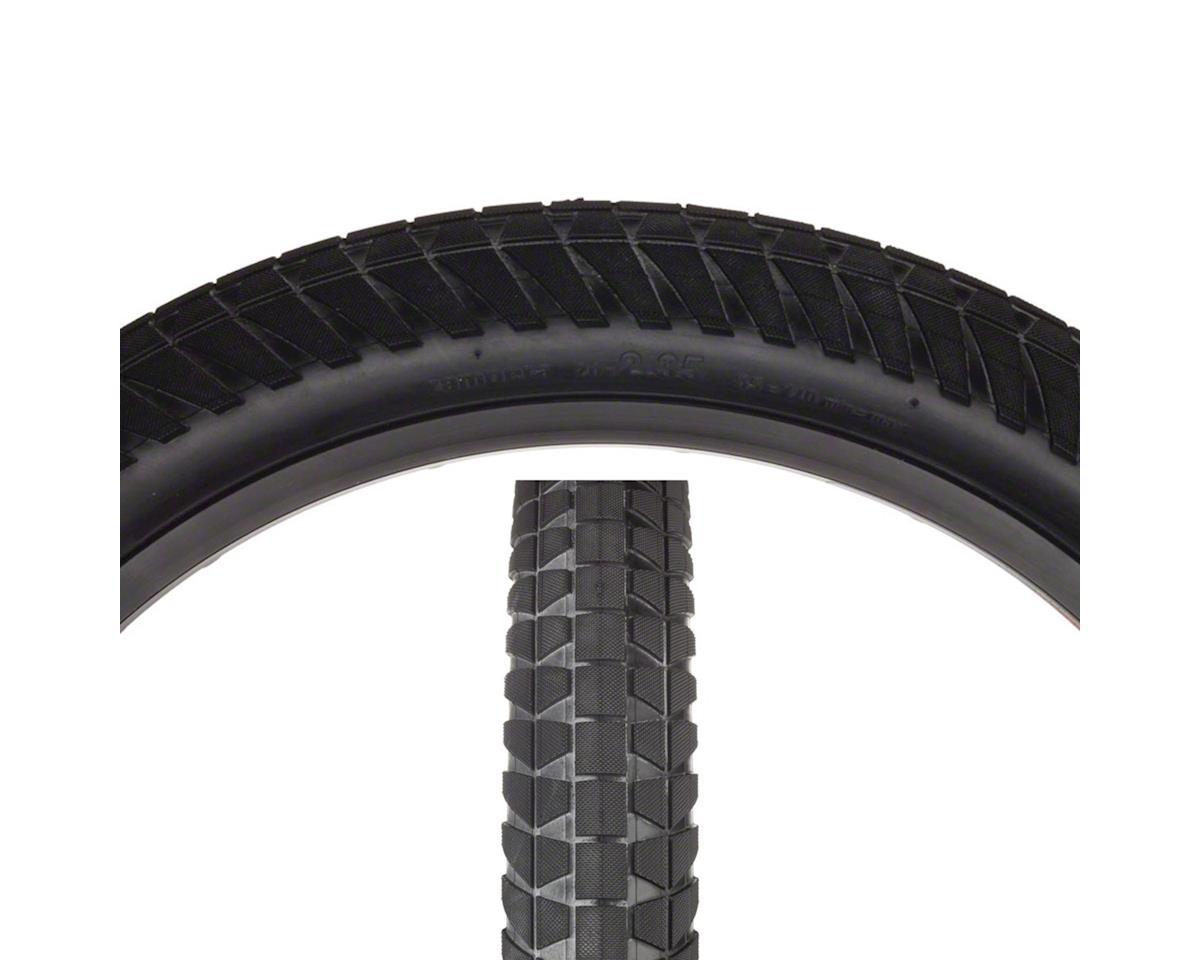 Flybikes Rampera Tire - 20 x 2.35, Clincher, Wire, Black, 60tpi